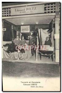 Old Postcard Tanning and Corroierie Edward Dietz Barr Bas-Rhin