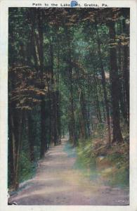 Pennsylvania Mt Gretna Path To The Lake 1937