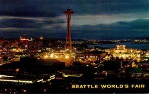 Washington Seattle World's Fair From Queen Anne Hill