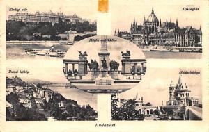 Budapest Republic of Hungary Dunai latkep, Hosok emlekkove Budapest Dunai lat...