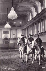 Wien Spanische Reltschule Spanish Riding School Austria Postcard