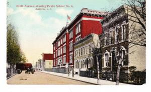ASTORIA QUEENS PUBLIC SCHOOL # 6 & HOMES ON NINTH AVE NOW 38TH ST. LI, NYC