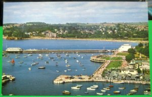 England The Harbour from Vane Hill Torquay - unposted