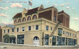 Byer's Opera House Fort Worth, TX, USA 1910