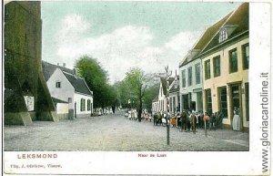 05576 VINTAGE POSTCARD: HOLAND NETHERLANDS - LEKSMOND