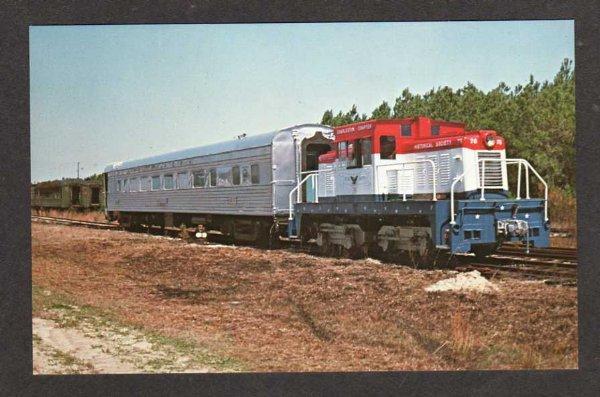 SC CHARLESTON Chapter Railroad Train SOUTH CAROLINA RR
