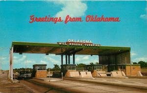 Tulsa Oklahoma Central High School OK pm 1950s 1951 Postcard