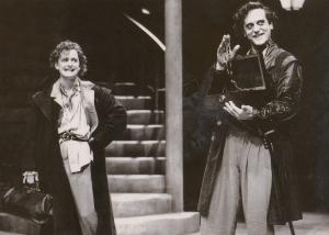 The Venetian Twins David Troughton Royal Shakespeare Company Theatre Postcard