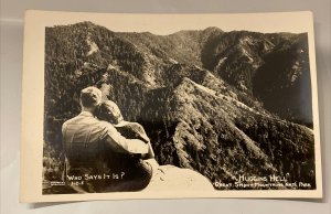 HUGGINS HELL Hugging Couple Great Smoky Mtn National Park TN Cline Photo RPPC