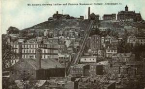 Mt. Adams Incline & Rockwood Pottery Cincinnati OH Unused