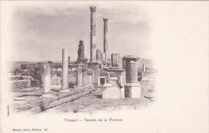 Algeria Timgad Temple de la Victoire