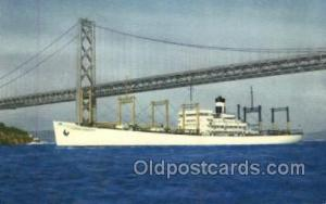 SS America Transport Ship, Ships, Ocean Liners Postcard Post Cards  SS Americ...