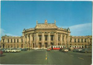 Austria, Vienna, Wien, Burgtheater, 1975 used Postcard