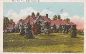 Kentucky Shelby County Allen Dale Farm 1931