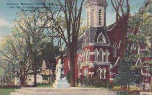 New York Geneva Veterans Memorial Pultner Park And First Presbyterian Church
