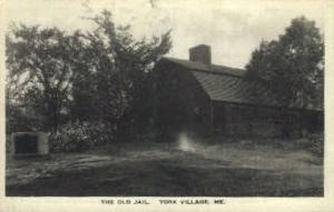 The Old Jail York Village ME 1926