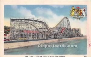 Ontario, Canada Postcard New Comet Coaster, Crystal Beach Postal Used Unknown