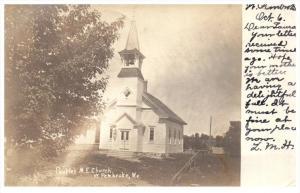 Maine West Pembroke  People´s M.E.Church   Real photo