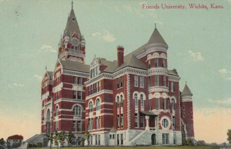 WICHITA , Kansas, PU-1911 ; Friends University