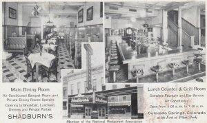 Colorado Springs , 1910-30s ; Shadburn's Restaurant