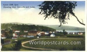 Ayers Cliff, Que Canada, du Canada Fair Grounds & Lake Ayers Cliff, Que Fair ...