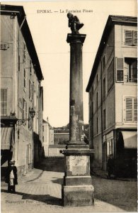 CPA ÉPINAL - La Fontaine Pinau (455376)
