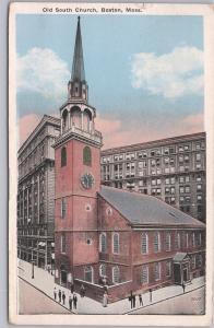 Boston, Mass., Old South Church - 1927