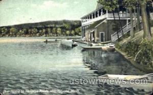 Boat House, Hampton Ponds Holyoke MA 1908
