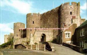 England - England - Pembroke Castle - The Barbican Gate - A Salmon Cameracoor...