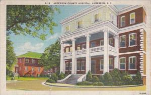Anderson County Hospital Anderson South Carolina