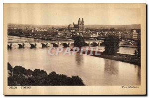 Postcard Old Tours general view