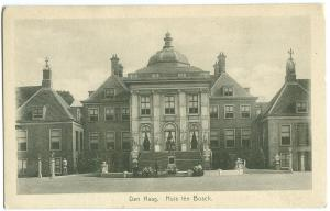 Netherlands, Den Haag, Huis ten Bosch, early 1900s unused Postcard