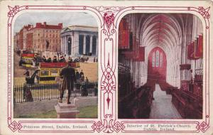 2Views, Princess Street, Interior Of St. Patrick's Church, Dublin, Ireland, 1...