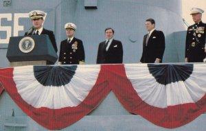 U.S.S. New Jersey (BB-62), 1970s;