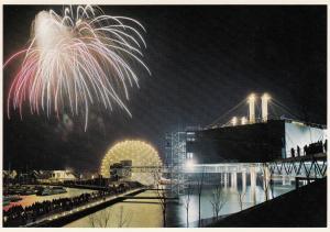 TORONTO , Ontario , Canada , 50-70s ; fireworks , Ontario Place