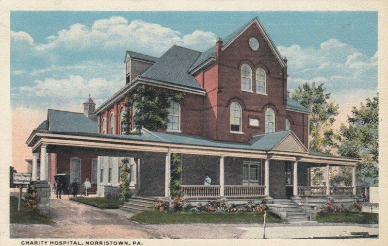 NORRISTOWN , Pennsylvania, 1900-10s ; Charity Hospital