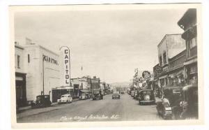 RP; General View of Main Street, Capitol Building, Penticton, British Columbi...