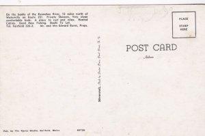 Maine Hinckley Riverside Store & Cabins Dexter Press sk0244a