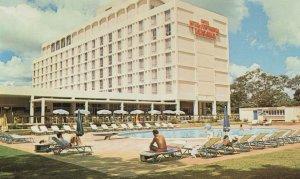 Hotel Inter Continental Lusaka Zambia Postcard