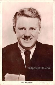 Van Johnson Movie Star Actor Actress Film Star Postcard, Old Vintage Antique ...