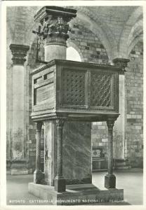 Italy, BITONTO, Cattedrale, Monumento Nazionale, Pergamo, unused Real Photo