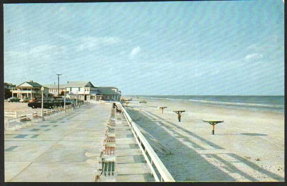 New Smyrna Beach Boardwalk - Fl postcard