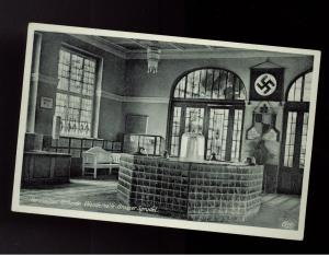1939 Germany RPPC Postcard Cover Mineral baths and spa