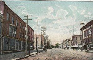 HORNELL , New York , 1908 ; Main Street