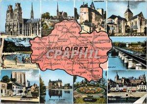 Modern Postcard Orleans Loiret Montargis St Benedict s Loire Beaugency Briare...