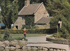 Child At Captain Cooks Cottage Melbourne Australia Postcard