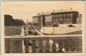 POLAND -  Vintage Postcard archiwalne pocztówki - WARSAW