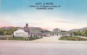 Lazy J Motel , CLEARFIELD , Utah , 30-40s