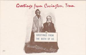 Greetings From Covington Tennessee Greetings From The Both Of Us