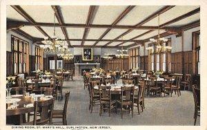 nj-burlington Dining Room St. Marys Hall Unused